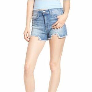 Pants - SP Black Label Frayed Hem Shorts